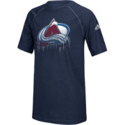 adidas Youth Colorado Avalanche Drifting Navy T-Shirt