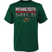 NHL Youth Minnesota Wild T-Rex Green T-Shirt