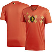 adidas Youth Belgium Replica Home Red Stadium Jersey