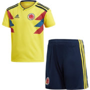 adidas Toddler Colombia Replica Home Yellow Stadium Jersey Set