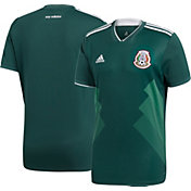 adidas Youth Mexico Replica Home Green Stadium Jersey