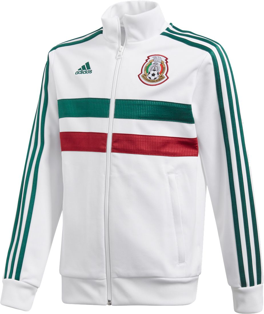 Adidas Youth 2018 Fifa World Cup Mexico White Track Jacket by Adidas