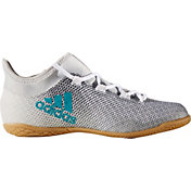 adidas Kids' X TANGO 17.3 Indoor Soccer Shoes