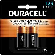 Duracell 123 3V Lithium Batteries – 2 Pack