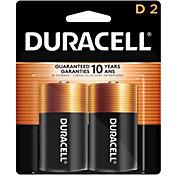 Duracell Coppertop D Alkaline Batteries – 2 Pack