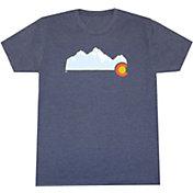 Aksels Men's Colorado Mountain Tri-Blend T-Shirt