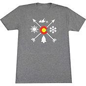 Aksels Men's Colorado Arrows Tri-Blend T-Shirt
