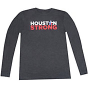 Aksels Men's Houston Strong Star Long Sleeve Shirt