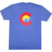 Aksels Men's Mountain C Tri-Blend T-Shirt