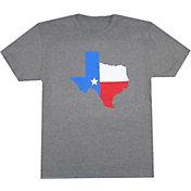 Aksels Men's Texas Flag Tri-Blend T-Shirt