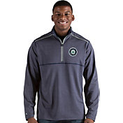 Antigua Men's Seattle Mariners Prodigy Quarter-Zip Pullover