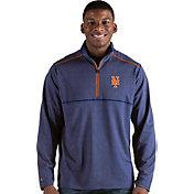Antigua Men's New York Mets Prodigy Quarter-Zip Pullover