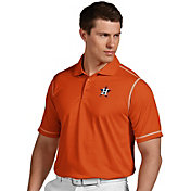 Antigua Men's Houston Astros Icon Orange Performance Polo