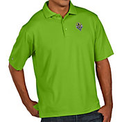 Antigua Men's Seattle Sounders FC Xtra-Lite Pique Performance Green Polo