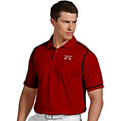 Antigua Men's Chicago Bulls Icon Red Performance Polo