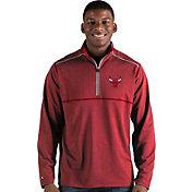 Antigua Men's Chicago Bulls Prodigy Quarter-Zip Pullover