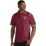 Antigua Men's 2017 NBA Finals Cleveland Cavaliers Merit Burgundy Performance Polo