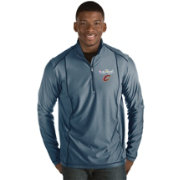 Antigua Men's 2017 NBA Finals Cleveland Cavaliers Tempo Navy Quarter-Zip Pullover