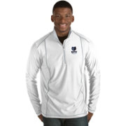 Antigua Men's Memphis Grizzlies Tempo White Quarter-Zip Pullover