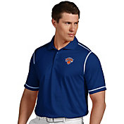 Antigua Men's New York Knicks Icon Royal Performance Polo