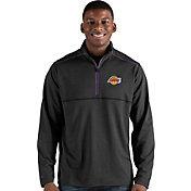 Antigua Men's Los Angeles Lakers Prodigy Quarter-Zip Pullover