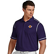 Antigua Men's Los Angeles Lakers Icon Lakers Performance Polo