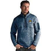 Antigua Men's Indiana Pacers Fortune Navy Half-Zip Pullover