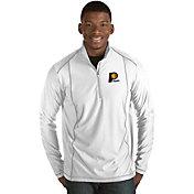 Antigua Men's Indiana Pacers Tempo White Quarter-Zip Pullover
