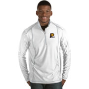 Antigua Men's Indiana Pacers Tempo White Quarter-Zip Pullover