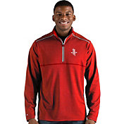 Antigua Men's Houston Rockets Prodigy Quarter-Zip Pullover