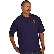 Antigua Men's Phoenix Suns Xtra-Lite Purple Pique Performance Polo