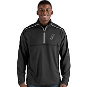 Antigua Men's San Antonio Spurs Prodigy Quarter-Zip Pullover