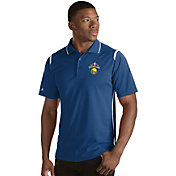 Antigua Men's 2017 NBA Champions Golden State Warriors Merit Royal Performance Polo