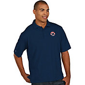Antigua Men's Washington Wizards Xtra-Lite Navy Pique Performance Polo