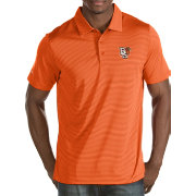 Antigua Men's Bowling Green Falcons Orange Quest Polo