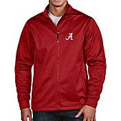 Antigua Men's Alabama Crimson Tide Crimson Full-Zip Golf Jacket