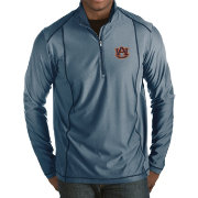 Antigua Men's Auburn Tigers Blue Tempo Half-Zip Pullover