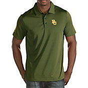 Antigua Men's Baylor Bears Green Quest Polo
