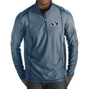 Antigua Men's BYU Cougars Blue Tempo Half-Zip Pullover