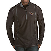 Antigua Men's UCF Knights Black Tempo Half-Zip Pullover