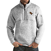 Antigua Men's UCF Knights Grey Fortune Pullover Jacket