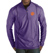 Antigua Men's Clemson Tigers Regalia Tempo Half-Zip Pullover