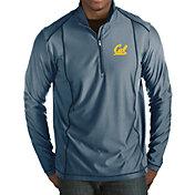Antigua Men's Cal Golden Bears Blue Tempo Half-Zip Pullover
