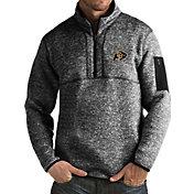 Antigua Men's Colorado Buffaloes Black Fortune Pullover Jacket