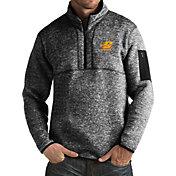 Antigua Men's Central Michigan Chippewas Black Fortune Pullover Jacket