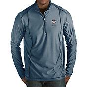 Antigua Men's UConn Huskies Blue Tempo Half-Zip Pullover