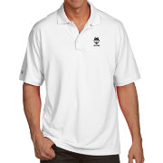 Antigua Men's UConn Huskies White Pique Xtra-Lite Polo