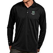 Antigua Men's Colorado State Rams Black Exceed Long Sleeve Polo