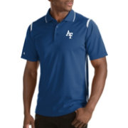 Antigua Men's Air Force Falcons Merit Xtra-Lite White Polo
