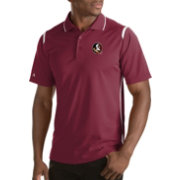 Antigua Men's Florida State Seminoles Merit Xtra-Lite White Polo